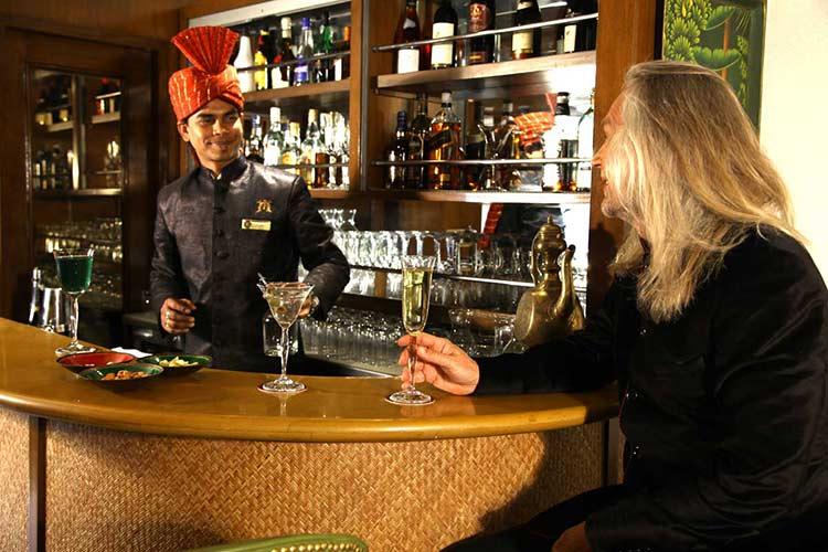 Maharajas Express Safari Bar