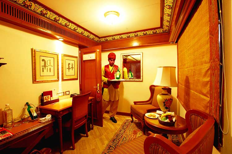 Suite Cabins of Maharajas Express