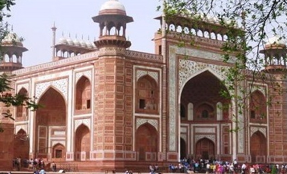 Taj Mahal, Agra by Maharajas Express