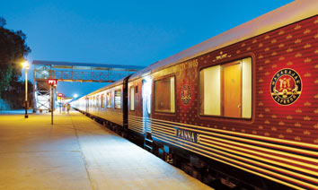 Maharajas Express Train Exterior