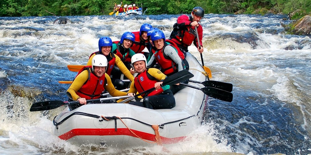 River Rafting in Sikkim