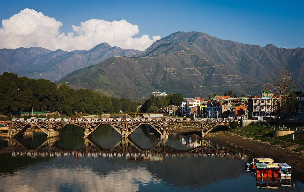 Abdullah Bridge, Srinagar