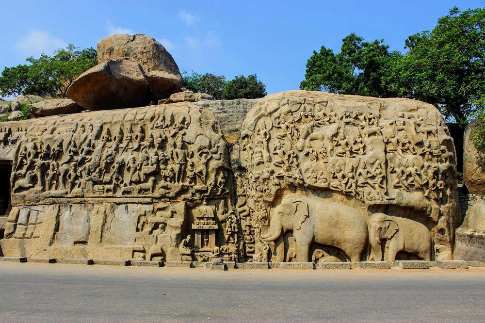 Arjuna's Penance Mahabalipuram