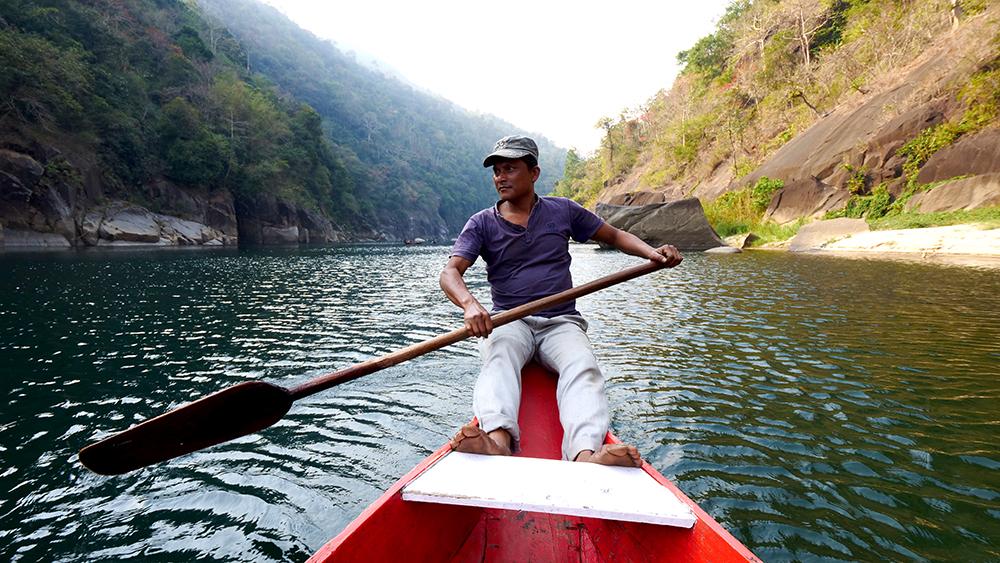 Boat Ride at Dawki River