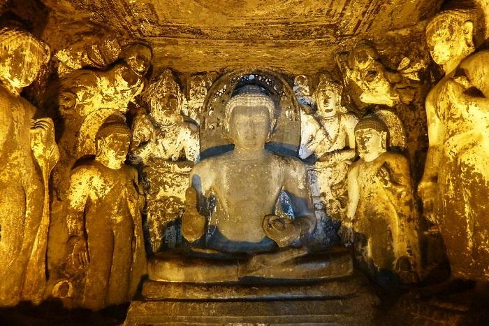 Buddhist  Caves Ajanta, Aurangabad