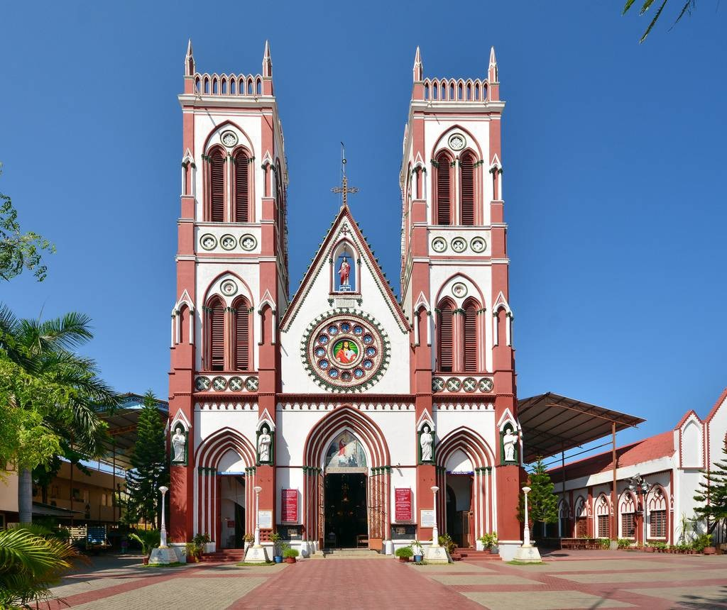 Church of the Sacred Heart of Jesus Pondicherry