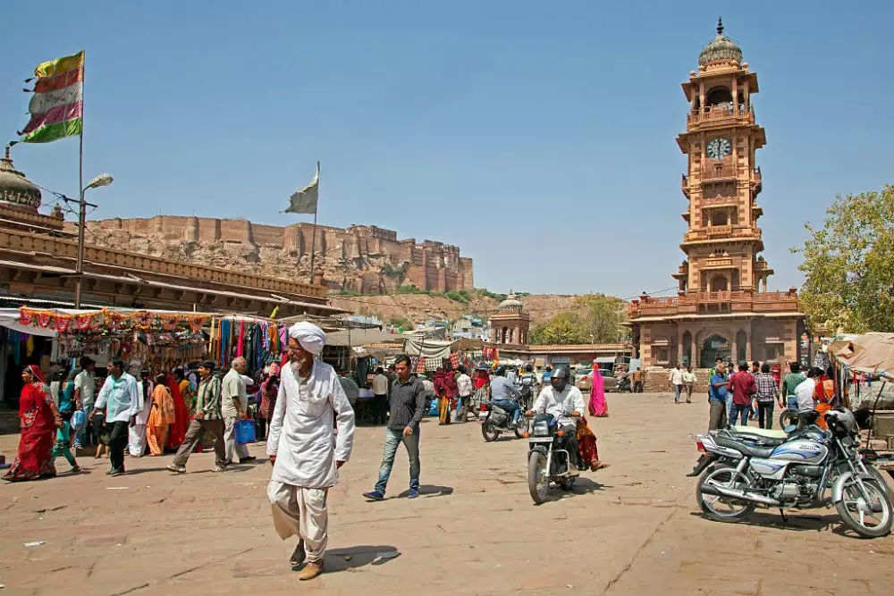 Clock Tower Market Jodhpur