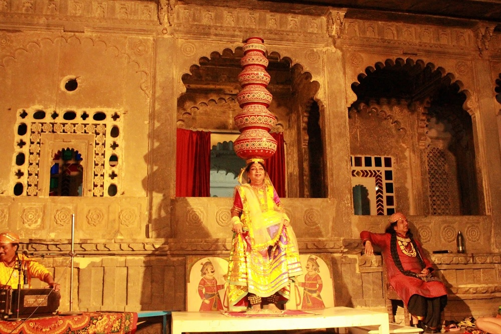 Dance Show at Bagore ki Haveli