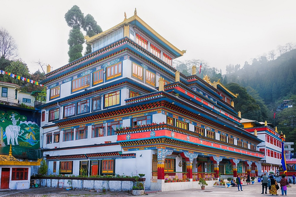 Dunggon Samten Choling Monastery Darjeeling