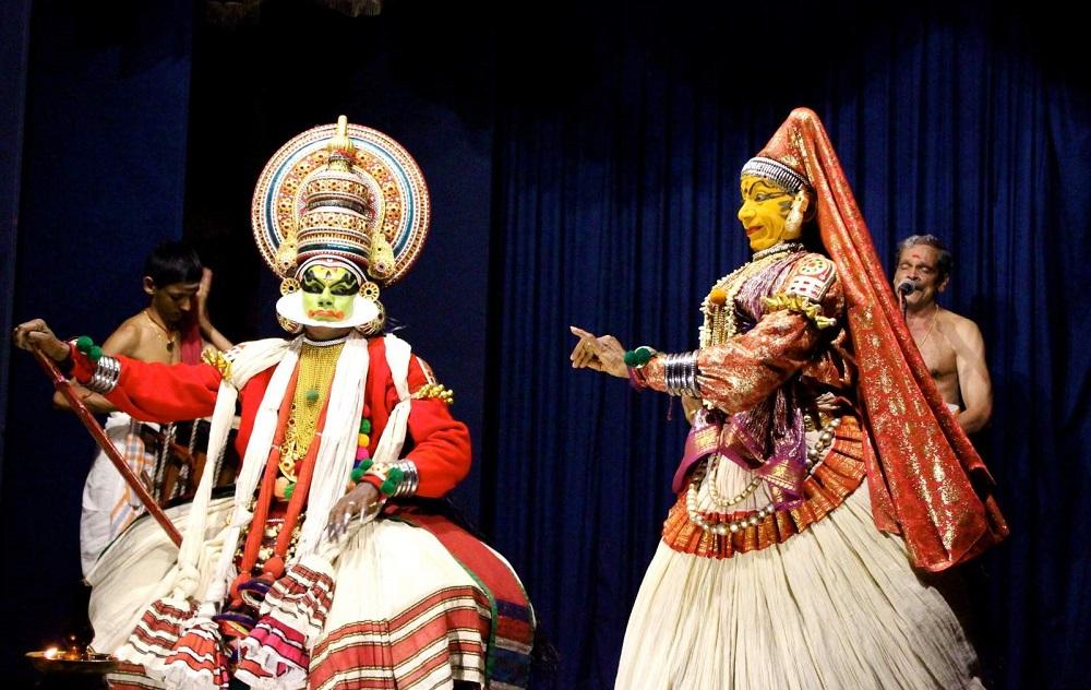 Kathakali Dance at Cochin