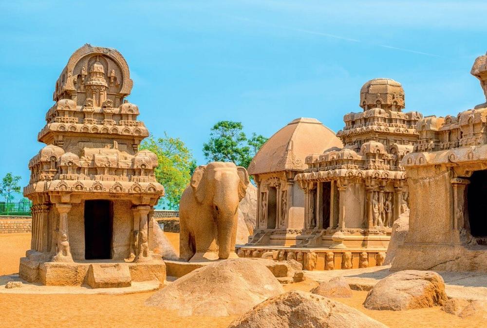 Panchrathas Mahabalipuram