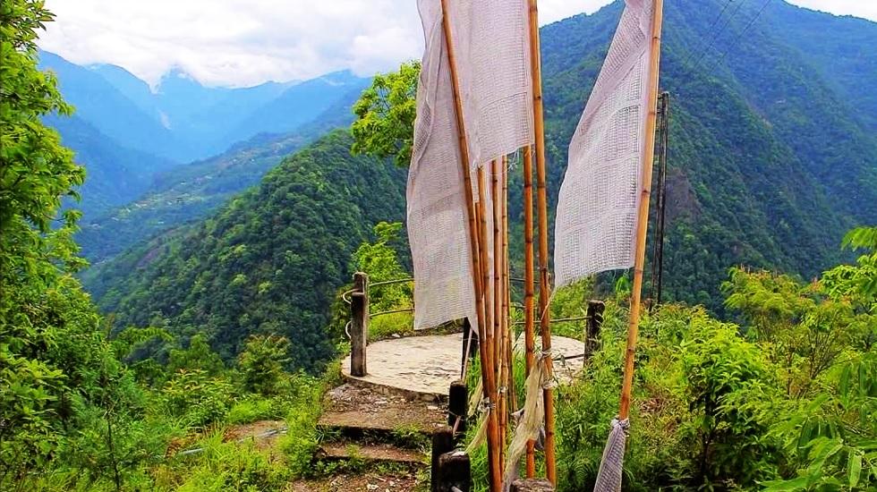 Singhik View Point Gangtok