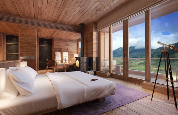 Six Senses Hotel Room