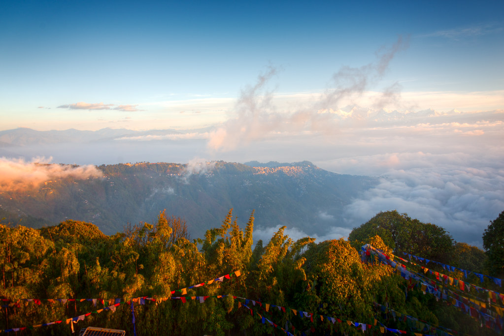 Sunrise View from Tiger Hill Darjeeling