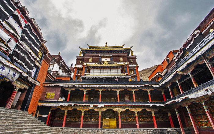 Tashilumpo Monastery Tibet