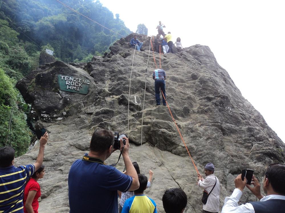 Tenzing Rock Darjeeling