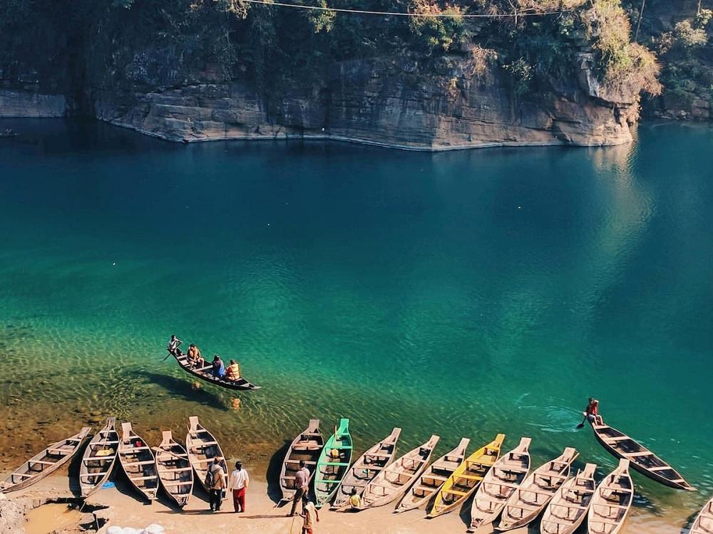 Umngot River Boating