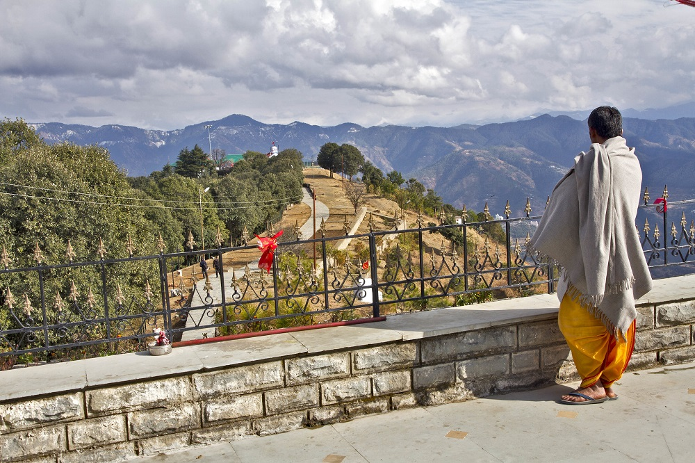 View from Tara Devi Temple, Shimla