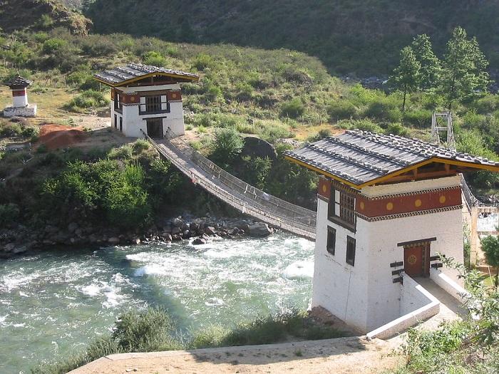 Chuzom, Bhutan