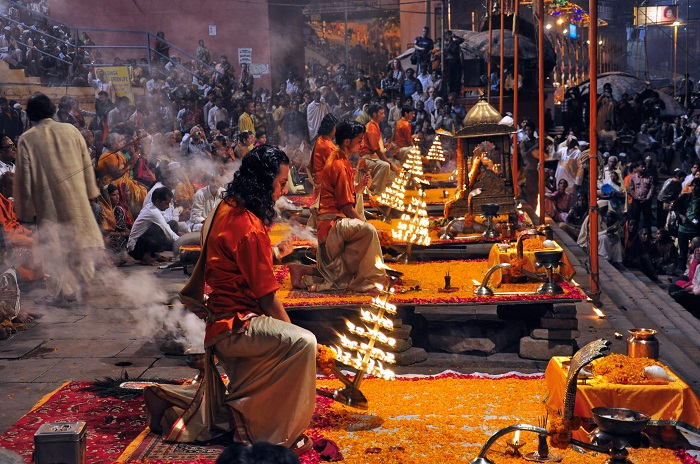 Morning Varanasi Aarti
