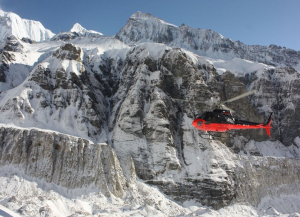 One Day Annapurna Base Camp Helicopter Tour Package