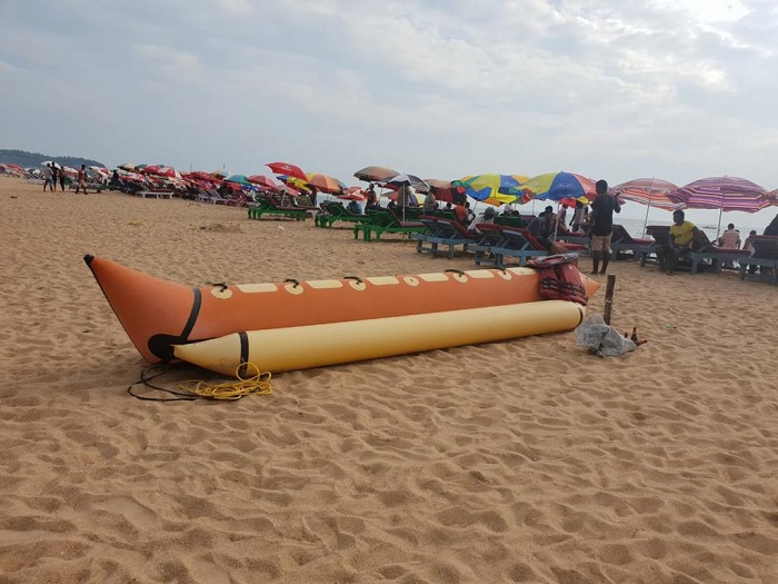 Banana Ride at Baga Beach