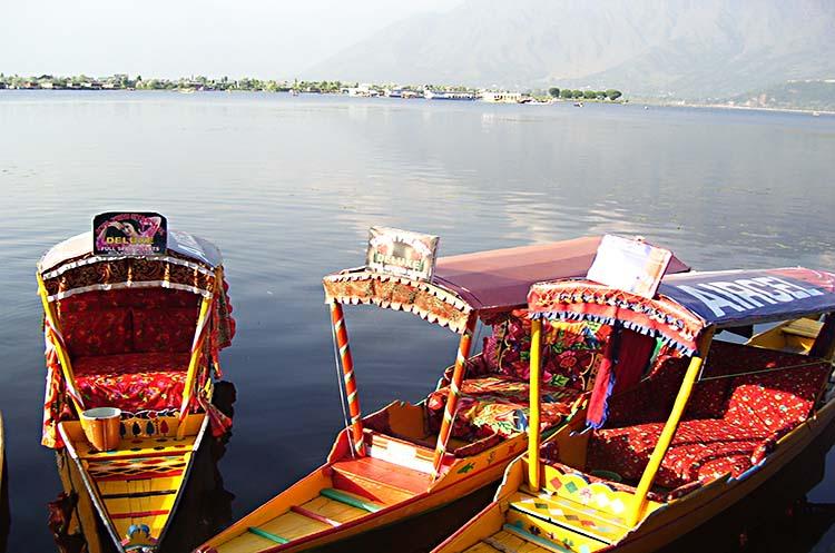 Dal Lake in Sriangar