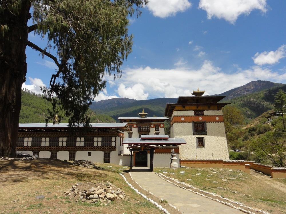Pangri Zampa Monastery, Punakha