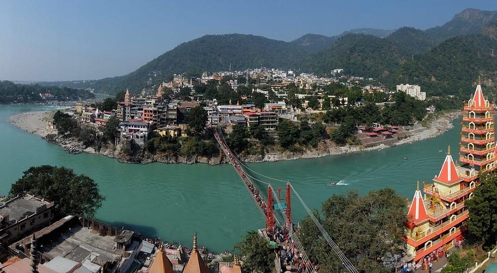 Rishikesh Ariel View