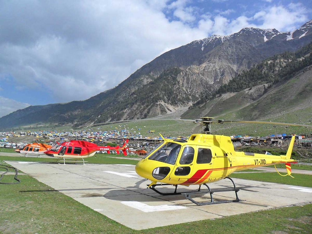 yatra by helicopter