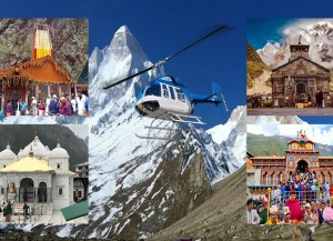 Chardham Yatra  From Haridwar By Helicopter - 5 Nights 6 Days