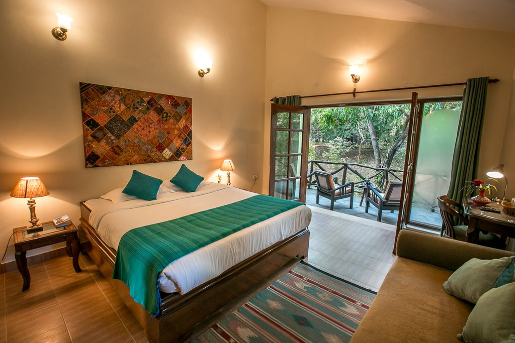 bandhavgarh lodge room view