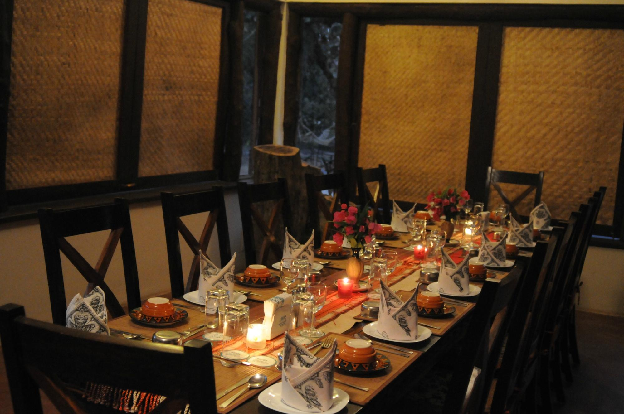 candle light dinner bandhavgarh