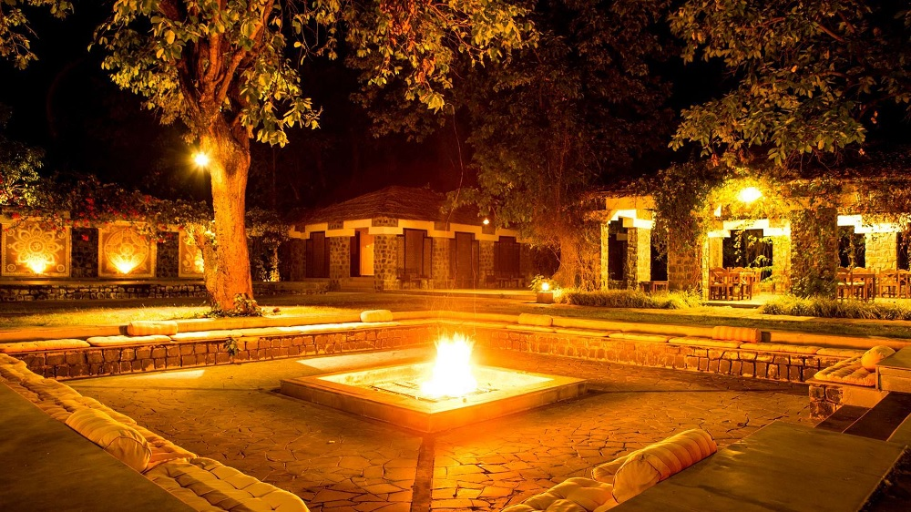 Bandhav Vilas Bandhavgarh Bonfire