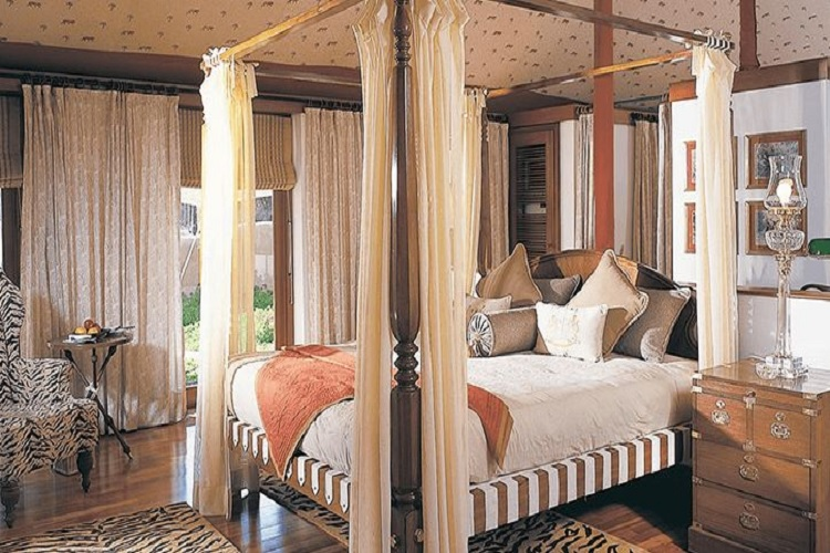 The Oberoi Vanyavilas Ranthambore Bedroom