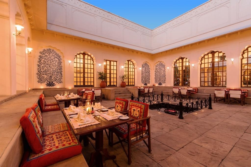 The Oberoi Vanyavilas Ranthambore Dining1