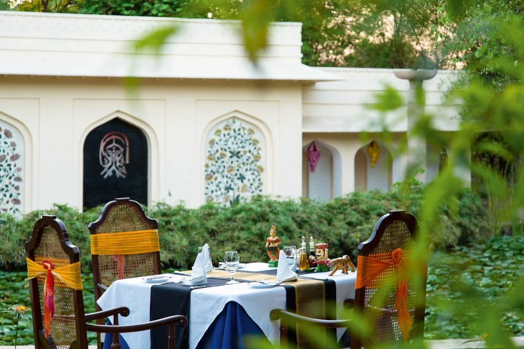The Oberoi Vanyavilas Ranthambore Private Dining