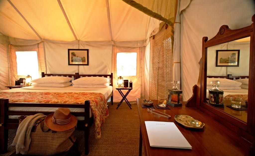 Sujan Sherbagh Resort Luxury Tent Bedroom1