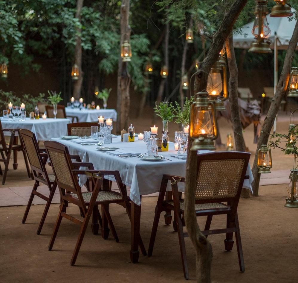Sujan Sherbagh Resort Ranthambore Dining