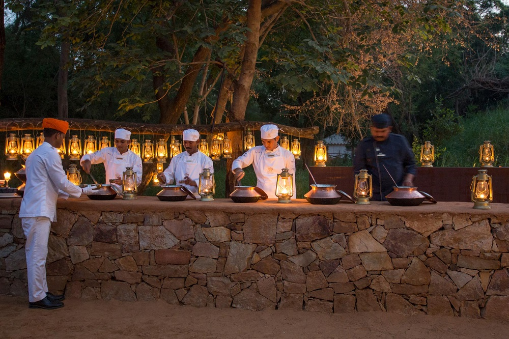Sujan Sherbagh Resort Ranthambore Dining2