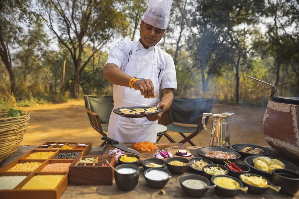Aman i Khas Cooking in Farm Venue