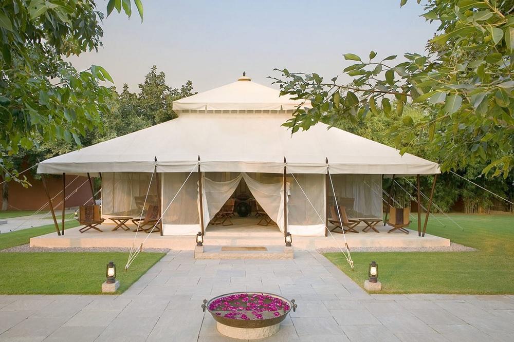 Aman i Khas Dining Tent