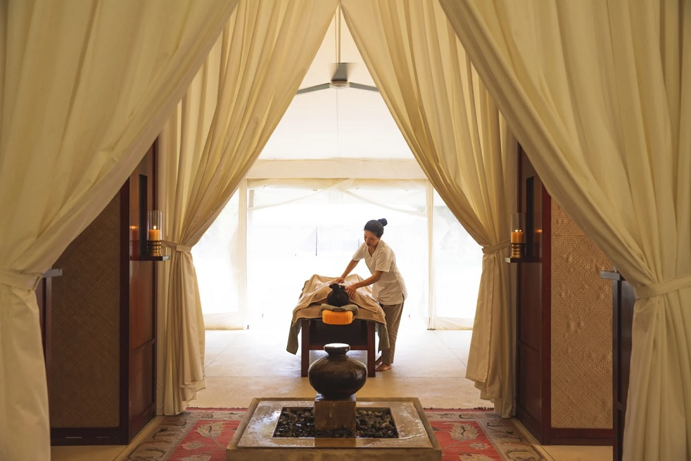 Aman i Khas Luxury Tent Spa Treatment