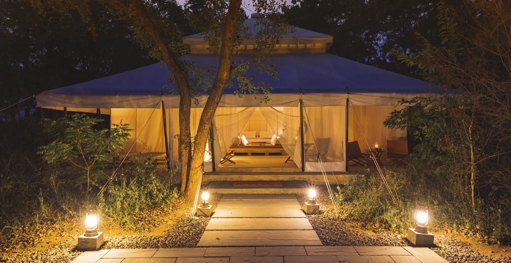 Aman i Khas Luxury Tent