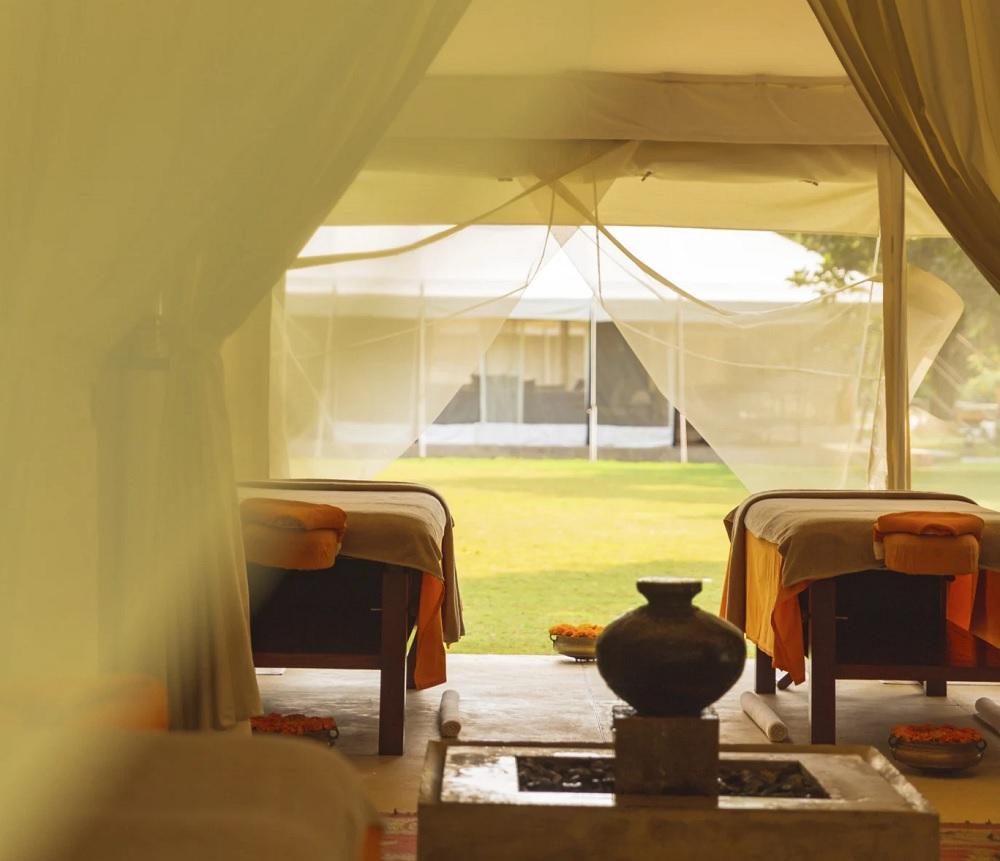 Aman i Khas Spa Tent