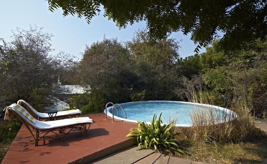 Khem Villas Ranthambore Pool1
