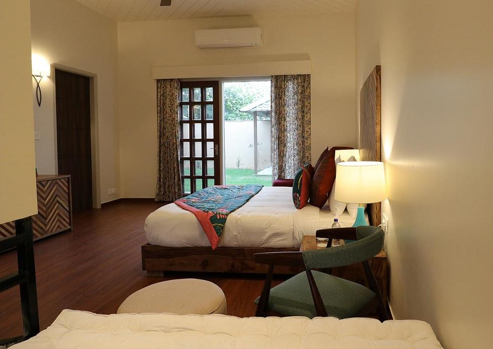 Sawai Vilas Ranthambore Luxury Suite Villa Room