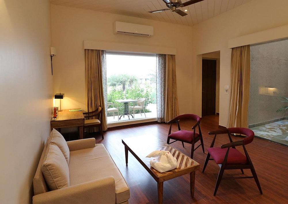 Sawai Vilas Ranthambore Luxury Suite Villa1