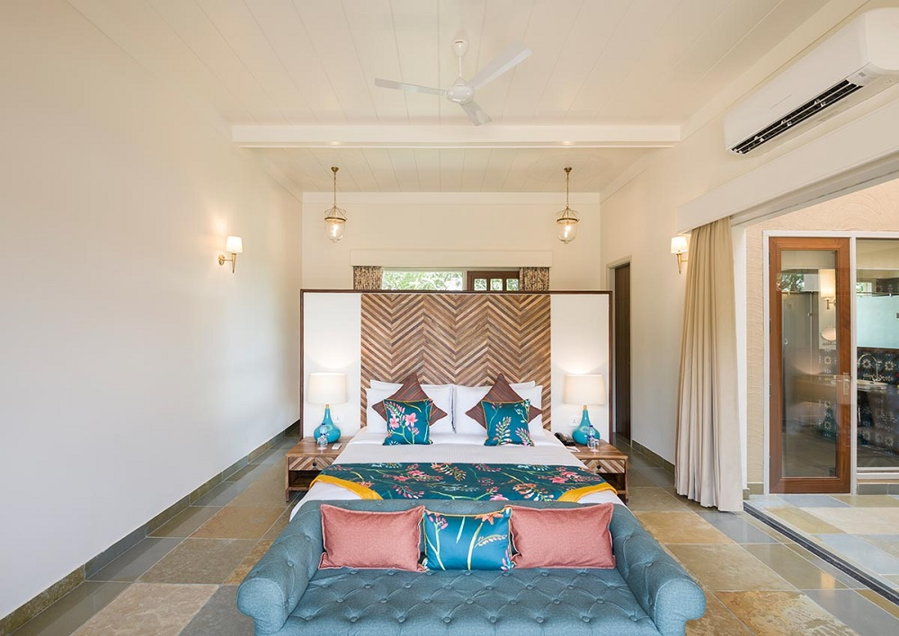 Sawai Vilas Ranthambore Luxury Villa Room