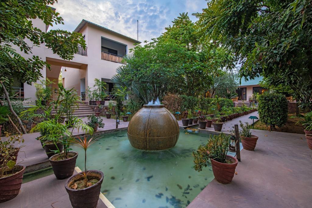 Ranthambore Kothi Garden View
